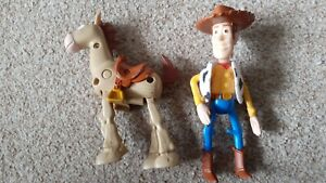 Disney Pixar Toy Story woody and bullseye figure McDonald's 2000