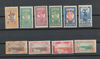 Martinique sc# 66//94 short set MH OG and 1x Used stamps 1922
