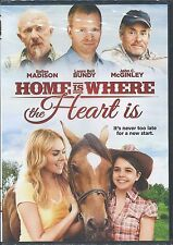 """""""HOME IS WHERE THE HEART IS"""" LAURA BELL BUNDY (DVD, 2014) BRAND NEW SEALED!"""
