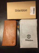 BNIB GENUINE SHIELDON iPhone 6 / 6S Plus, Premium Leather Wallet /Kickstand Case