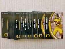 University Of Oregon Ducks 2015 Complete Set Football Panini 1-49 MARIOTA RC