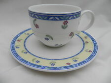 Villeroy & and Boch ADELINE TEA CUP 8cm x 6cm and SAUCER 15cm, Excellent.