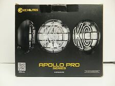 KC Hilites with 2 6 Inch Apollo Pro Series Driving Lights Kit # 151 Halogen 100W