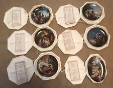 Lot of 6 Precious Moments Bible Story Collector Plates, Certificate Of Auth