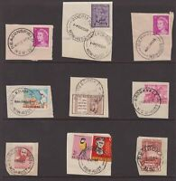 NSW QE11 era postmark group on piece all start with B
