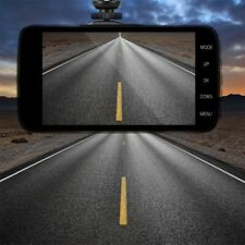 Car DVR Camera 4'' 1080P Dash Cam Vehicle Dual Lens Video Recorder IPS US STOCK
