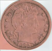 Vintage Unused Liberty Head Quarter Folder for all 1892-1903 Coins