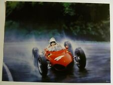 "1961 Ferrari 156 ""Sharknose"" Formula 1 Print Picture Poster RARE!! Awesome L@@K"