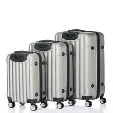 "3PCS 20"" 24"" 28"" Luggage Travel Set Bag ABS Trolley Hard Shell Suitcase TSA Lock"