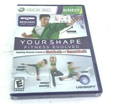 New  Your Shape: Fitness Evolved 2012 (Microsoft Xbox 360, 2011) Kinect