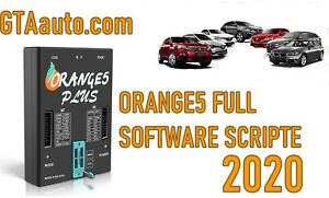 Orange 5 Scripts and calculates Full software new 2020 ECU Airbag immo dash