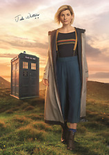 JODIE WHITTAKER NEW DR WHO 4 POSTERS AUTOGRAPH 8 X 11 DOCTOR LAMINATED