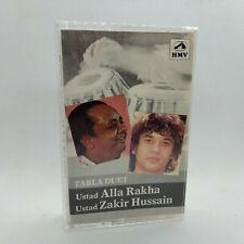 ALLA RAKHA & ZAKIR HUSSAIN - Tabla Duet - 1983 India Cassette Tape VG+
