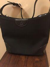 Joy Mangano Convertible Drop Bag-Black