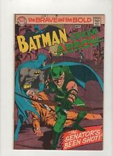 Brave and the Bold #85, VF/NM 9.0, 1st New Look Green Arrow,1st Print,1969,Scans