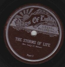 Rev. Carl J.E. Nelson on 78 rpm Rays of Light: The Storms of Life (2 parts) E