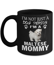 Maltese dog, Canis familiaris Maelitacus,Maltese lion puppy,Malteses,Coffee Mug