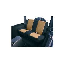New Jeep Wrangler Tj 97-02 Rear Fabric Seat Cover Tan  X 13281.04