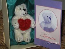 Mayfair Edition UK Maurice Miniature Bear Ltd 21/3000 Mohair Valentines Day