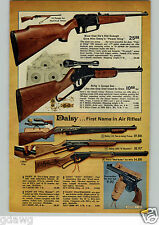1972 PAPER AD Air Rifle Daisy Power King Five Shooter Red Ryder Peacemaker