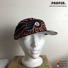 Vtg Philadelphia Flyers Starter Shatter Snapback Hat 90s Nhl