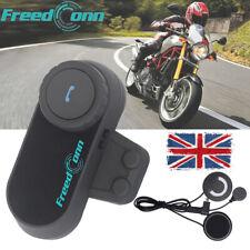 FreedConn TCOM-OS Motorcycle Helmet Intercom Bluetooth Headset Interphone FM MP3