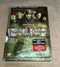 Pirates of the Caribbean: At Worlds End DVD 2-Disc Set LIMITED EDITION Johnny De
