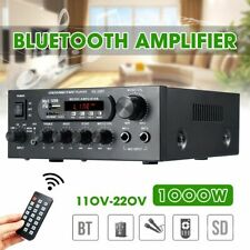 Home Theater Audio Power Amplifiers With Remote And USB Card Bluetooth Amplifier