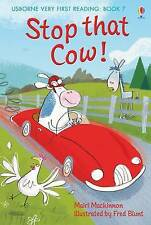 NEW USBORNE Very First Reading (7) STOP THAT COW  paperback
