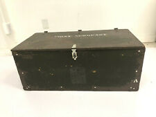 WWII Era US Army Officer/'s Foot Locker Lock or Latch Assembly Dated 1943 MINT