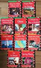 Lot of 10 Learn-Abouts books 2 level 13 & 3 level 14 & 3 level 15 & 2 level 16