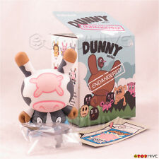 Kidrobot Dunny Endangered series cow by Triclops 3-inch vinyl figure Mooo! toy