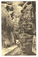 AK Wehlen, Sächs. Schweiz, Felsentor, Uttenwalder Grund, 1920
