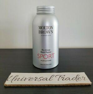 Molton Brown Recharge Black Pepper SPORT Muscle Soak 300g