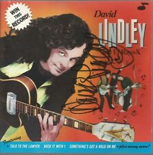 Win This Record * by David Lindley (CD, 1990) Original Signed
