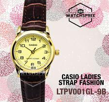 Casio Ladies' Standard Analog Watch LTPV001GL-9B LTP-V001GL-9B