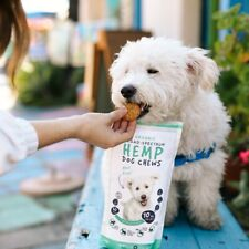 Hemp Dog Chews 10MG for inflammatory response, joint flexibility, and mobility.