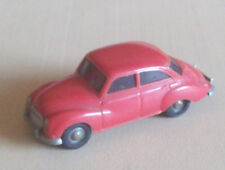 Vintage Wiking WM Germany HO 1:87 plastic 1960s made DKW rose