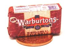 1:12 Scale Warburton Loaf Wrapper Tumdee Dolls House Kitchen Bread Accessory Red