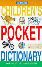 Kingfisher Illustrated Pocket Dictionary, , Very Good Book