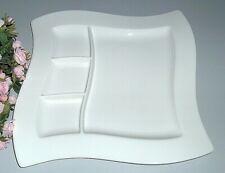 Villeroy & Boch NEW WAVE Grillplatte / Grillteller ca. 27x27cm NEU V&B mehr da
