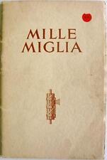 MG Mille Miglia - Motorsport Publicity Brochure - 1933