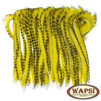 Wapsi Rabbit Half Skin Zonked 4mm Strips Various Colours Fly Tying Materials