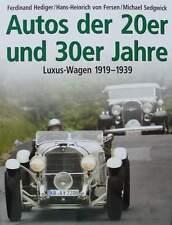 LIVRE/BOOK : VOITURE DES ANNEES 20 & 30 - voitures de luxe 1919 - 1939