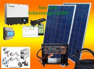 5000Watt Photovoltaikanlage / Solaranlage mit Pylontech Lithium Batteriespeicher