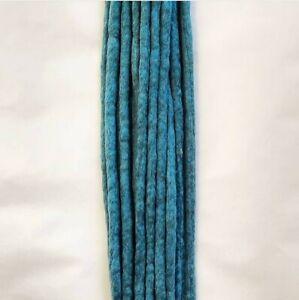Duck egg Wool Dreads Dreadlocks ×10 double ended approx 18inch long