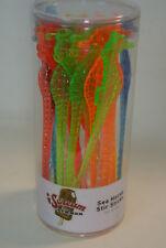 Set of 24 Bright Seahorse Cocktail Drink Stir Swizzle Sticks / Stirrers: New