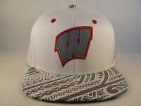 Wisconsin Badgers NCAA Zephyr Snapback Hat Cap Lahaina
