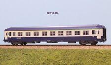 REE MODELS VB 190 SNCF carrozza cuccette A4c4Bc5c livrea blu e gris beton ep. V