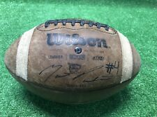 Wilson 1003 Gst Football Autographed By Unknown Free Shipping Ncaa